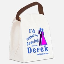 Dancing With Derek Canvas Lunch Bag