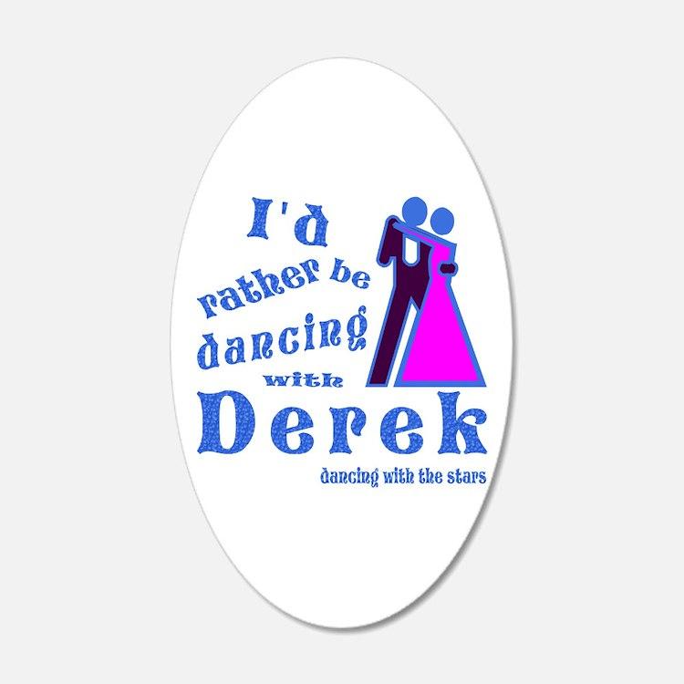 Dancing With Derek Wall Decal