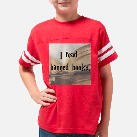 banned books 2 Youth Football Shirt