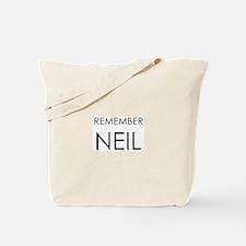 Remember Neil Tote Bag
