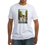 Bathing Beauties #2 Fitted T-Shirt