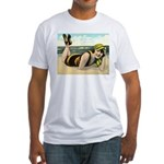 Catching Rays Fitted T-Shirt