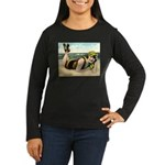 Catching Rays Women's Long Sleeve Dark T-Shirt