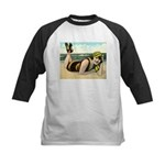Catching Rays Kids Baseball Jersey