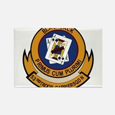 53rd Troop Carrier Squadron Rectangle Magnet (10 p