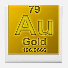 Gold Tile Coaster