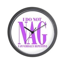 I do not NAG Wall Clock