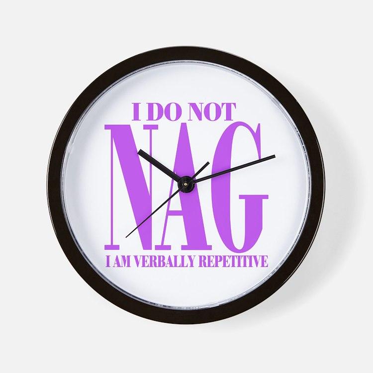 I do not NAG Wall Clock