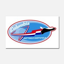STS-4 Columbia Car Magnet 20 x 12