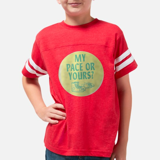 mypaceoryourstrans Youth Football Shirt