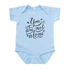 Not Alone Infant Bodysuit