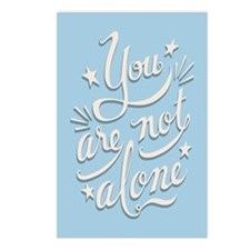 Not Alone Postcards (Package of 8)