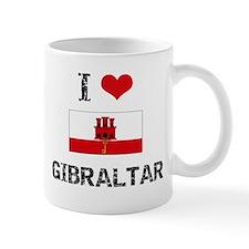 I HEART GIBRALTAR FLAG Mug