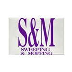 S&M Rectangle Magnet (10 pack)