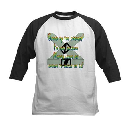 Saved by the Carseat! Kids Baseball Jersey