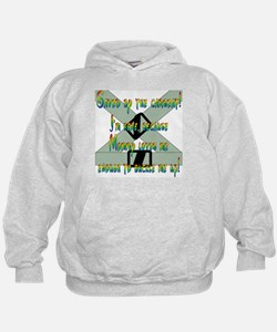 Saved by the Carseat! Hoodie
