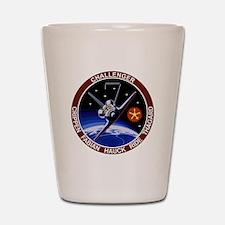 STS 7 Challenger Shot Glass