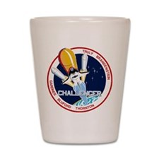STS-8 Challenger Shot Glass
