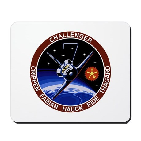 STS 7 Challenger Mousepad