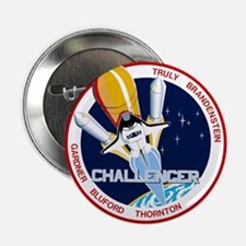 """STS-8 Challenger 2.25"""" Button"""