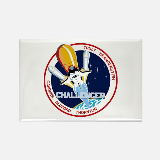 STS-8 Challenger Rectangle Magnet