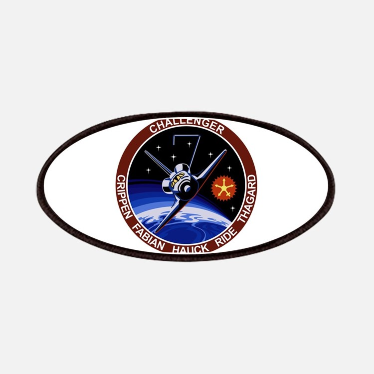 STS 7 Challenger Patches