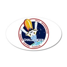 STS-8 Challenger Wall Decal