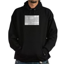 Periodic Table Hoodie