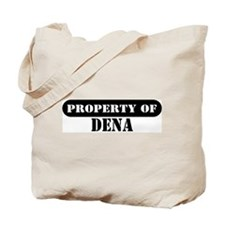 Property of Dena Tote Bag