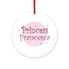 Francesca Ornament (Round)