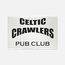 Celtic Crawlers Pub Club Rectangle Magnet