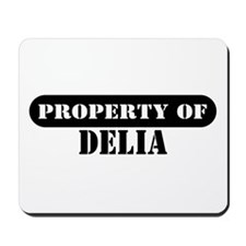 Property of Delia Mousepad