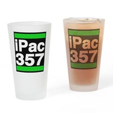 ipac 357 green Drinking Glass