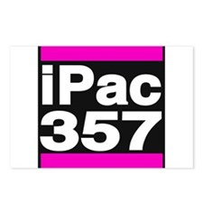 ipac 357 pink Postcards (Package of 8)