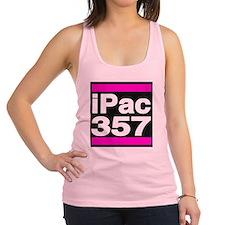 ipac 357 pink Racerback Tank Top