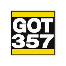 got 357 yellow Sticker