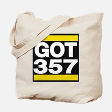 got 357 yellow Tote Bag