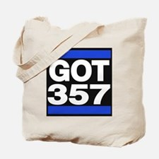 got 357 blue Tote Bag