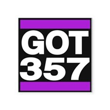 got 357 purple Sticker