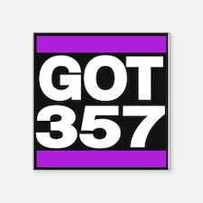 got 357 purple Sticker