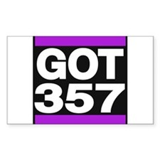got 357 purple Decal