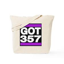 got 357 purple Tote Bag