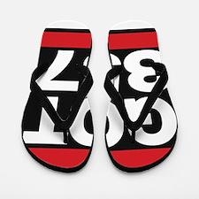 got 357 red Flip Flops