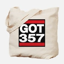 got 357 red Tote Bag