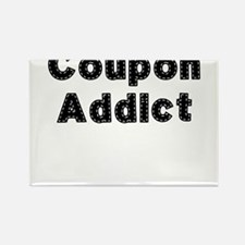 Coupon Addict Rectangle Magnet