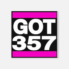 got 357 pink Sticker