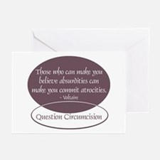 Voltaire Quote Greeting Cards (Pk of 10)