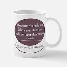 Voltaire Quote Mug