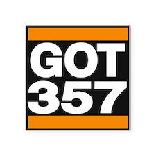 got 357 orange Sticker