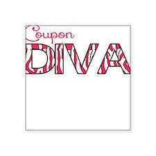 Coupon Diva Sticker